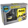Batman Egg cup and toast cutter packaged