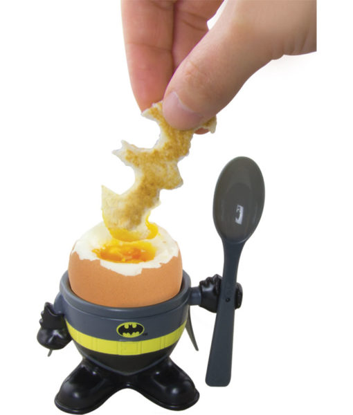 Batman egg cup and spoon