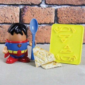 August Boutique Paladone Superman Egg cup dc comics